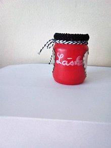 Svietidlá a sviečky - Svietník - Láska z lásky - 10440021_