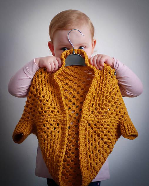 b70bb7067 Háčkovaný kardigan pre deti / OdLubky - SAShE.sk - Handmade Detské ...