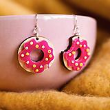 Náušnice - Náušničky - donut - 10440917_