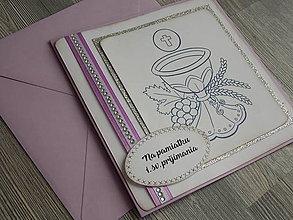Papiernictvo - ...pohľadnica k 1. sv. prijímaniu - 10438190_