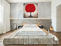 Obrazy - Energetický obraz 80x80 cm, Strom lásky  - 10440290_