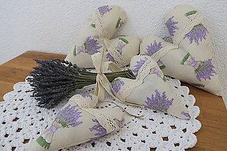Dekorácie - levanduľová kytička - 10438763_