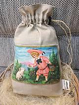 Úžitkový textil - Veľkonočné vrecúško na výslužku. - 10441533_