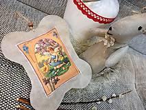 Dekorácie - Veľkonočný levanduľový vankúšik. - 10441730_
