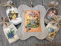 Dekorácie - Veľkonočný levanduľový vankúšik. - 10441795_