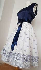 Šaty - Retro folklorne šaty - 10440271_