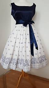 Šaty - Retro folklorne šaty - 10440275_