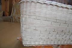 Košíky - Košík z pedigu - veľký, oválny 3 - 10439125_