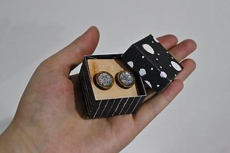 Náušnice - Full silver - 10442245_