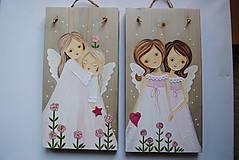 Obrazy - Anjeli... obrázky na objednávku - 10443859_