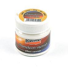 Farby-laky - Efektný lak chameleon 50 ml, zlatý - 10442435_