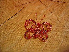 Magnetky - Motýlik - 10444156_