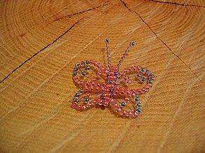 Magnetky - Motýlik - 10444187_