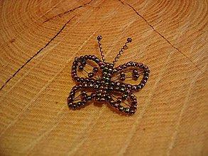 Magnetky - Motýlik - 10444191_