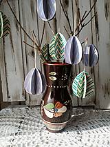 Dekorácie - Veľkonočná dekorácia - Vajíčko ( 8 ks ) - 10443063_