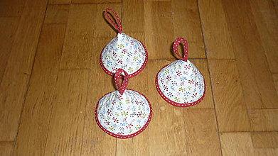 Úžitkový textil - Chňapka ZVONČEK (viac variant) (vločky) - 10444443_
