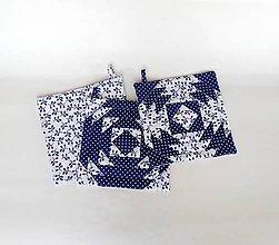 Úžitkový textil - Sada chňapiek - 10442877_