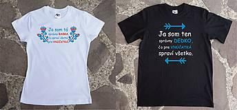 Tričká - tričko pre správnu babku - 10445334_
