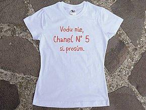 Tričká - tričko Chanel 5 - 10442292_