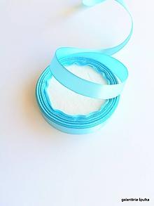 Galantéria - stuha saténová 16mm svetlo modrá - 10442996_