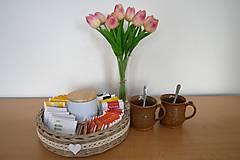 Košíky - košík na čajové sáčky - 10444153_