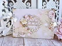 Papiernictvo - Svadobná kniha hostí - 10444002_