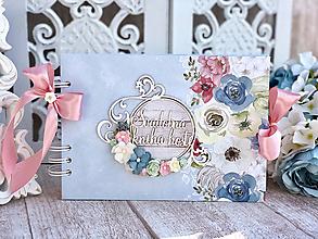 Papiernictvo - Svadobná kniha hostí  - 10443908_