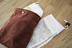 Úžitkový textil - ZeroWaste nakupovací set - 10444140_