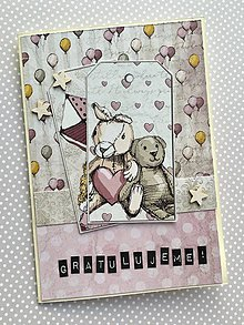 Papiernictvo - Detská pohľadnica k narodeninám - 10445282_