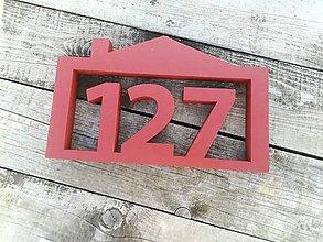 Tabuľky - Popisné číslo: Útulný domček - 10445346_