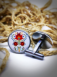Šperky - Manžetové gombíky Žigmund 1 - 10443770_
