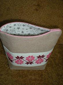 Taštičky - kozmetická taška - 10445127_