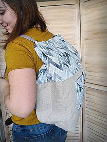 Nákupné tašky - Veľká ECO nákupná taška do ruky/na plece - 10442620_