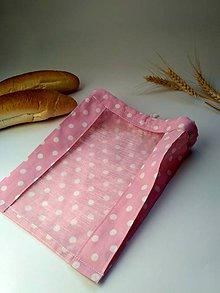 Úžitkový textil - Vrecko na drobné pečivo - MINI - 10444705_