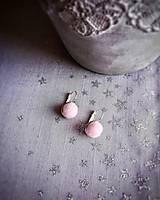 Náušnice - Náušničky z cukrovej vaty - 10443984_