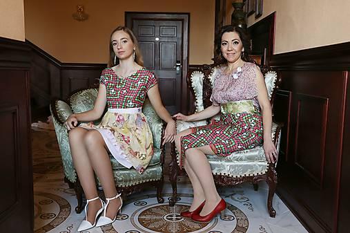 80d95bb7b973 Hodvábno-bavlnené šaty s brošňou   GabbySosaCouture - SAShE.sk ...