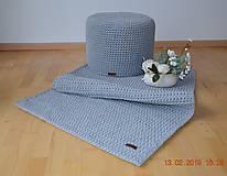 Úžitkový textil - HÁČKOVANÝ KOBEREC - 10444165_