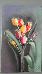 Obrazy - Tulipány - 10444786_