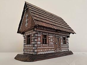 Dekorácie - Drevenica - domček - 10443277_