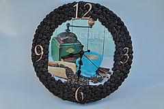 Hodiny - Kávové hodinky - 10443316_