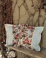 Úžitkový textil - Ruže v béžovom - 10444645_