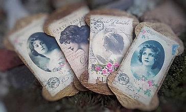 "Dekorácie - Vintage sada špulek ""První republika"" - 10444682_"