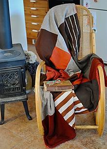 Úžitkový textil - Tehlová deka - 10442286_