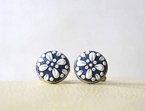 Šperky - Folk manžetové gombíky - Katarínka - 10447740_