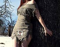 Šaty - Indiánske - 10446271_