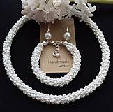 Sady šperkov - Svadobna suprava - 10446172_