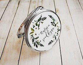Darčeky pre svadobčanov - Zrkadielko - 10447325_
