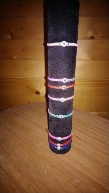 Handmade šperky náramky ručne pletené Obručové náramky   SAShE.sk 33cb4695155