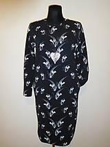 Šaty - Bílé trsy rostlin - 10445910_
