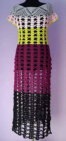 Šaty - Háčkované šaty - 10448172_